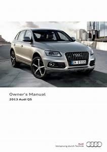 Download 2013 Audi Q5 Owner U2019s Manual    Zofti