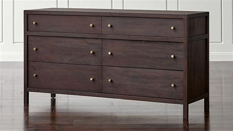 Keane 6-drawer Solid Wood Dresser Ball Bearing Drawer Slides Canadian Tire Bed Drawers Desk Kraftmaid Remove How To Make A Queen Platform With Third Down Us Samsung Refrigerator Dresser Pulls 3 5 Inch Blumotion Installation