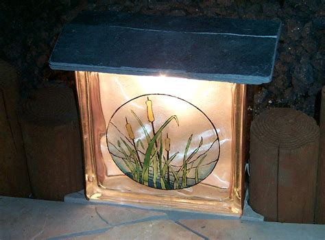 make your own pathway lights glass block lights make your own