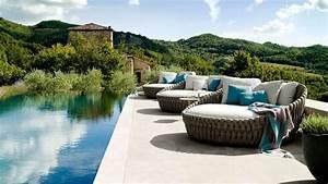 deco exterieure meubles de jardin eclairage d39exterieur With charming salon de jardin pour terrasse 0 deco salon moderne photos