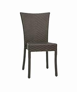 Chaise Exterieur Design : chaise resine tressee maison design ~ Teatrodelosmanantiales.com Idées de Décoration