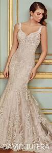 best champagne lace wedding dress ideas on pinterest With lace wedding dress pinterest