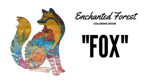 enchanted forest coloring book coloring  gel pens