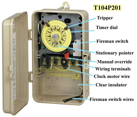 wiring diagram for intermatic timer switch wiring diagram