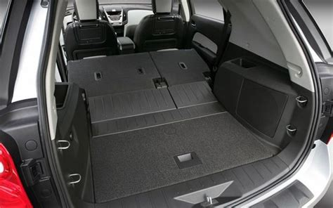 Folding Back Seat Of Chevy Equinox