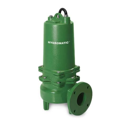 hydromatic hydromatic s3wr200m6 4 submersible sewage 2 hp 208v 3ph manual 20 cord