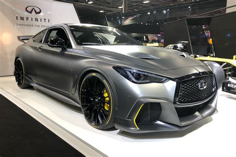 Infiniti Project Black S shown in Paris with dual-hybrid ...
