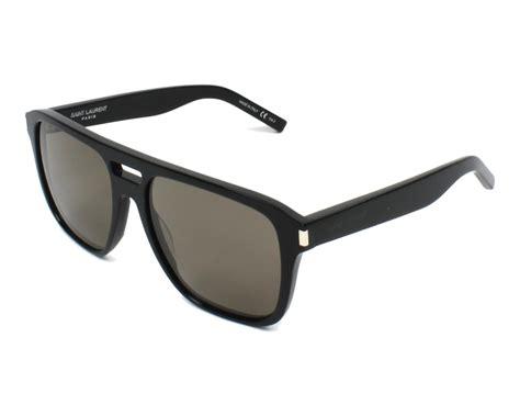 Yves Saint Laurent Sunglasses Sl-87 001 Black