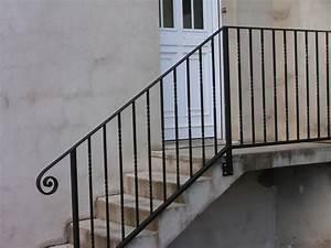 Rampe Escalier Lapeyre : garde corps rampe exterieure fer forge charollais brionnais serrurerie c b s ~ Carolinahurricanesstore.com Idées de Décoration