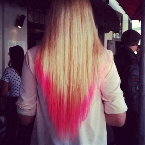 17 Best Images About Dip Dye Hair On Pinterest Pink Dip