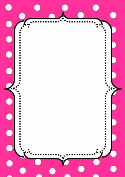 Borders Clip Clipart Border Pink Cliparts Frames