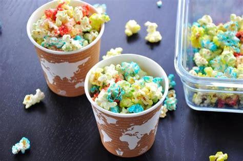 colored popcorn colored popcorn recipe colored popcorn popcorn and
