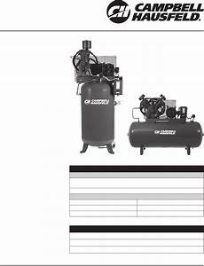 Campbell Hausfeld Air Compressor Ce8000 User Guide