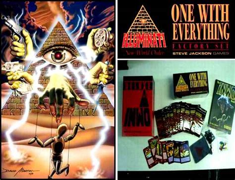 Illuminati Card Steve Jackson Le Carte Da Gioco Resistenza Illuminati