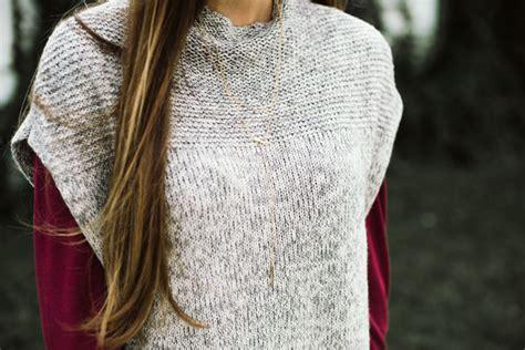 Styling A Poncho Sweater