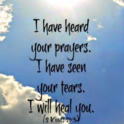 Bible Verses On Healing Health