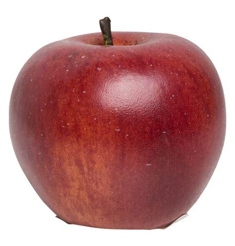 artificial dark red apple matt blatt