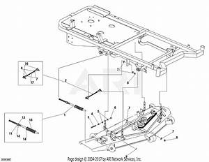 Dr Power Chassis Parts Diagram For Deck To Chassis