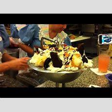 The Kitchen Sink Ice Cream Challenge  Youtube