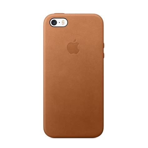 iphone leather iphone se leather saddle brown apple