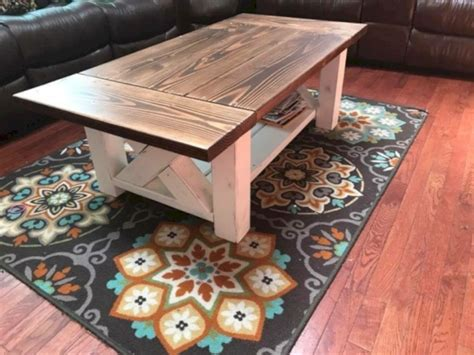 Check out the free plans here on handmade haven. 33 Best Chunky Farmhouse Coffee Table - Matchness.com