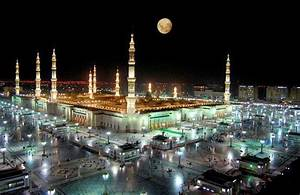 dreamy night madina | wallpaper islaam