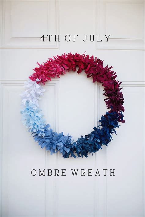 4th of july wreath tell fourth of july wreath tell love and party