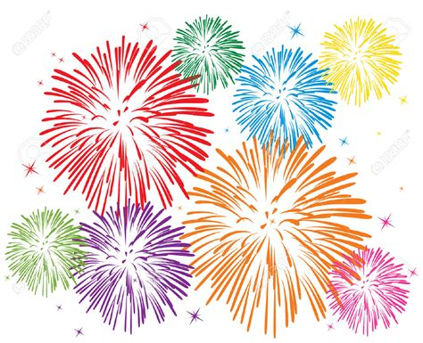 Clipart Fireworks Firework Cliparts