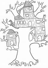 Coloring Tree Pages Treehouse Printable Annie Magic Jack Template Simple Getcolorings Colour Bestcoloringpagesforkids Getcoloringpages Templates Getdrawings Veggie Tales sketch template