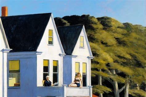 Edward Hopper   Second Story Sunlight   Double Exposure ...