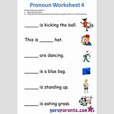 Pronoun Worksheets Guruparents