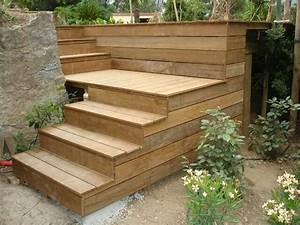 Escalier Terrasse Bois : quel bois choisir pour construire sa terrasse en bois ~ Nature-et-papiers.com Idées de Décoration