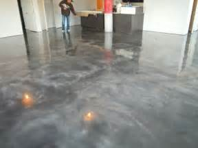 Polishing Hardwood Floors by Stained Concrete Floors