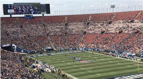 ers rams   tons  empty seats  kickoff