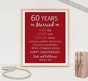 60th anniversary gift 60 years wedding anniversary for 60th wedding anniversary gifts