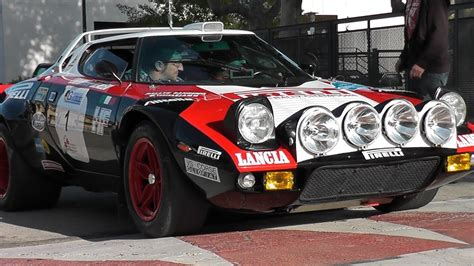 1978 Lancia Stratos HF Rally car Sound - YouTube