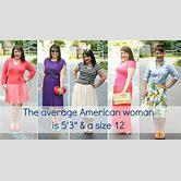 average-american-woman-height