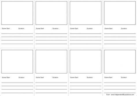 free storyboard template 7 audio storyboard templates doc pdf free premium templates
