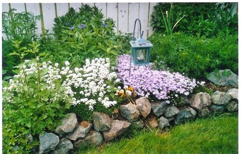 flower bed designs with rocks home decoration live