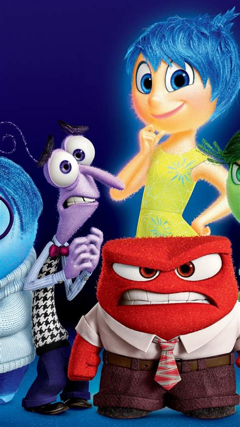 Wallpaper Inside out, best movies of 2015, cartoon, Movies ...