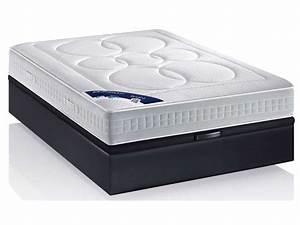 Coffre Lit 160x200 : le sommier coffre 160x200 pour qui mon lit coffre ~ Teatrodelosmanantiales.com Idées de Décoration