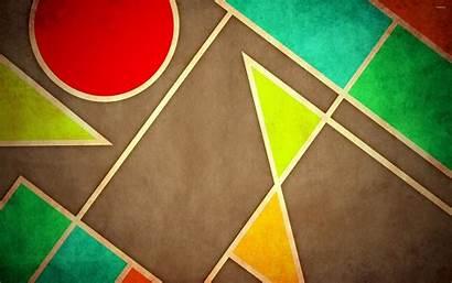 Shapes Geometric Shape Pastel Wallpapers Digital Background