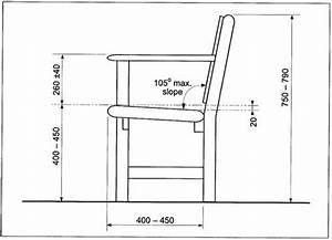 Park Bench Dimensions | Treenovation