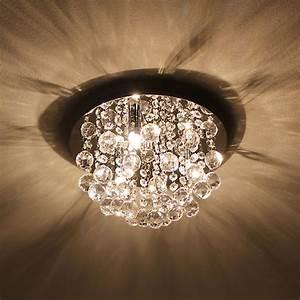 Led Deckenleuchte Kristall : luxpro led kristall deckenleuchte 28cm deckenlampe 3xg9 smd l ster h ngeleuchte ebay ~ Orissabook.com Haus und Dekorationen