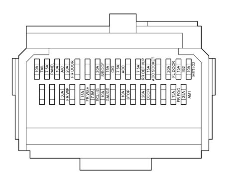underdash fuse diagram     fuse diagram