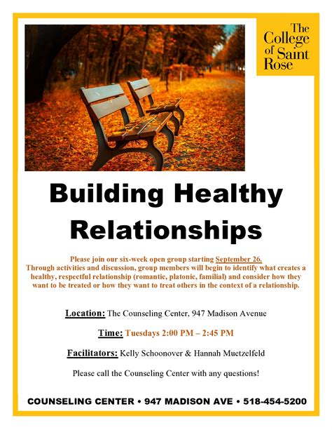 Counseling Services  The College Of Saint Rose · The
