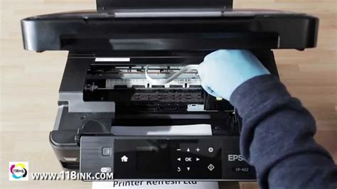 How to clean clogged or blocked Epson print head nozzles