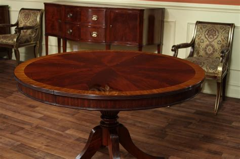 round wood dining room table modern round dining table a new family tradition