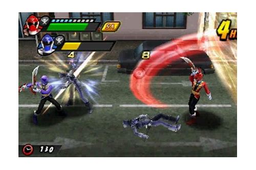 power rangers megaforce 3ds game download