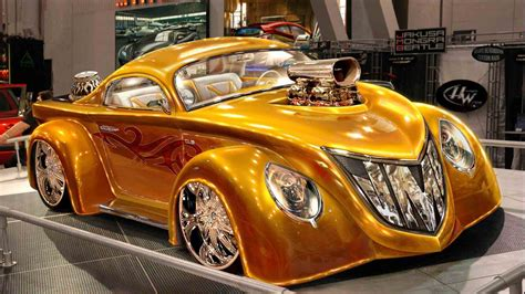 Cool Gold Cars Wallpapers